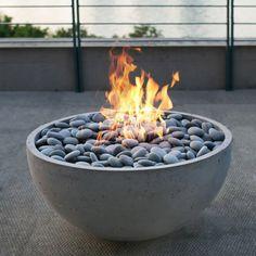 آتشدان در فضای باز