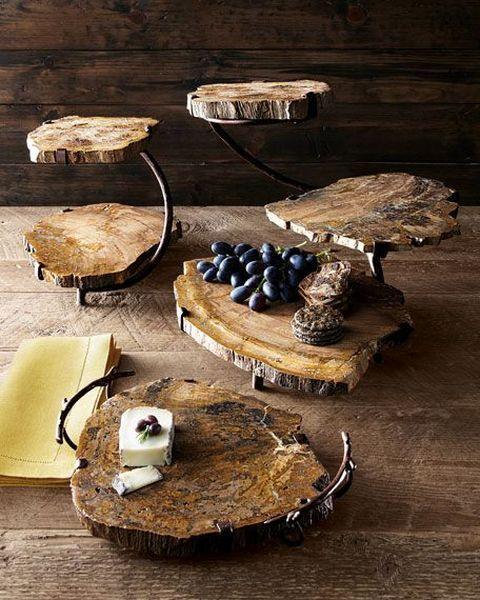 سینی سرو چوبی