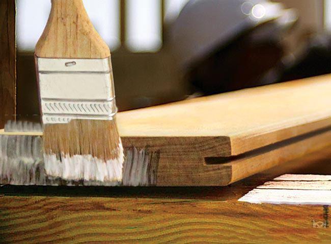 خشک کردن اسلب چوبی