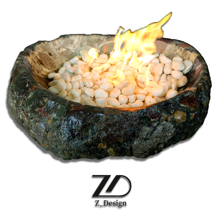 آتشدان سنگی