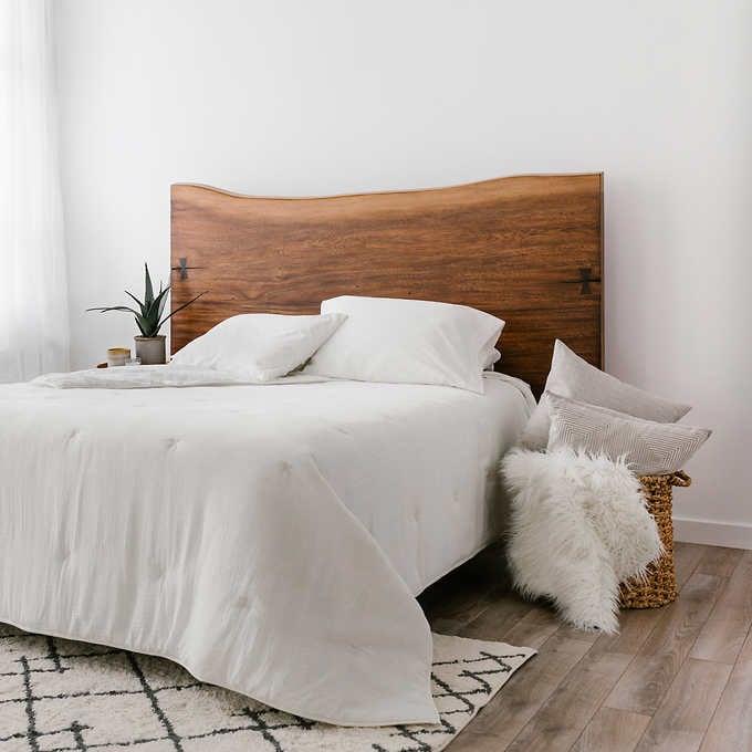 تخت خواب روستیک چوبی