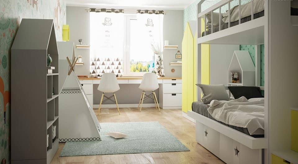 طراحی اتاق کودکان
