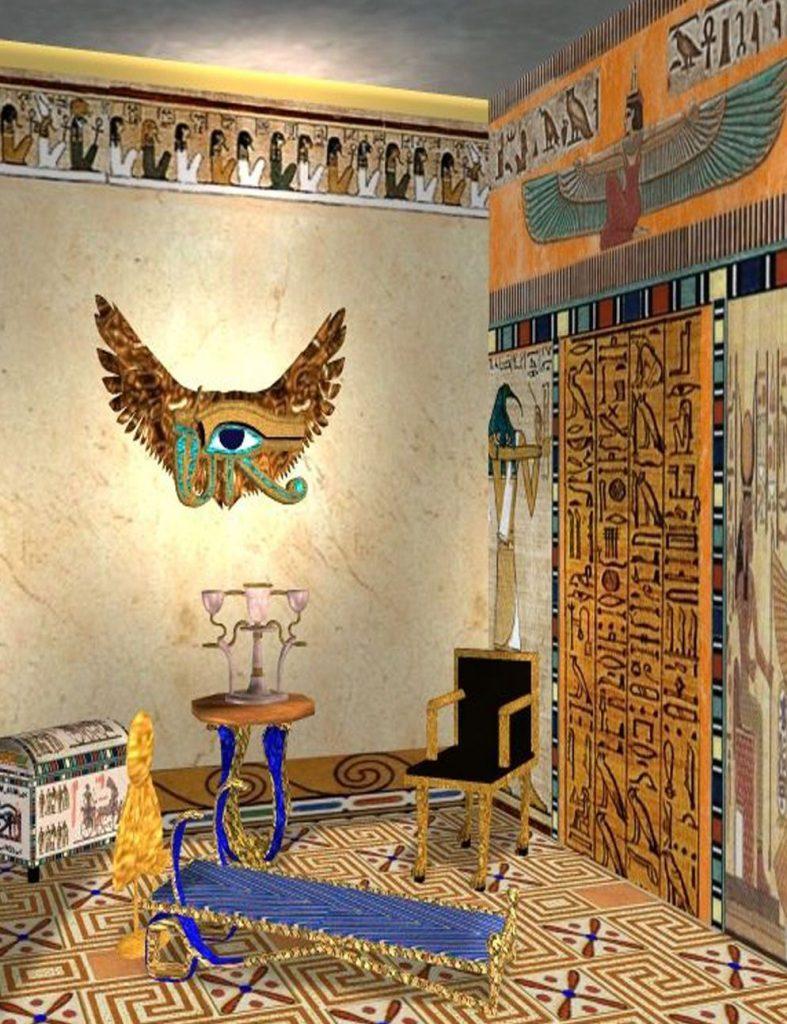 دکوراسیون داخلی به سبک مصری