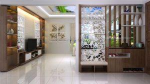 دکوراسیون داخلی منزل با پارتیشن