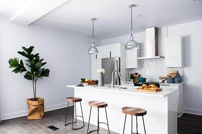 کانترها و استفاده ی حداکثری از فضای آشپزخانه