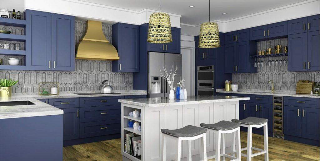 آشپزخانه آبی