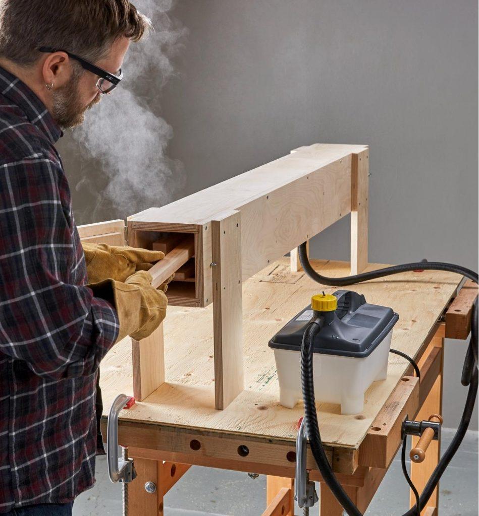 خمیده کردن چوب
