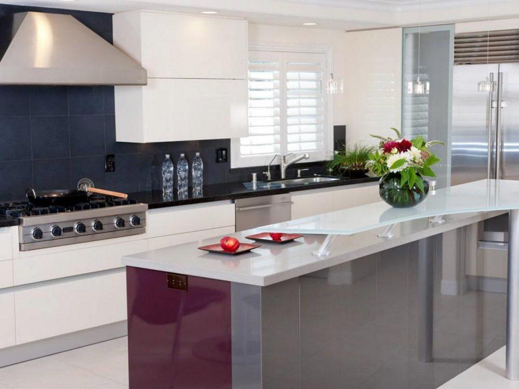 آشپزخانه ای به سبک مدرن