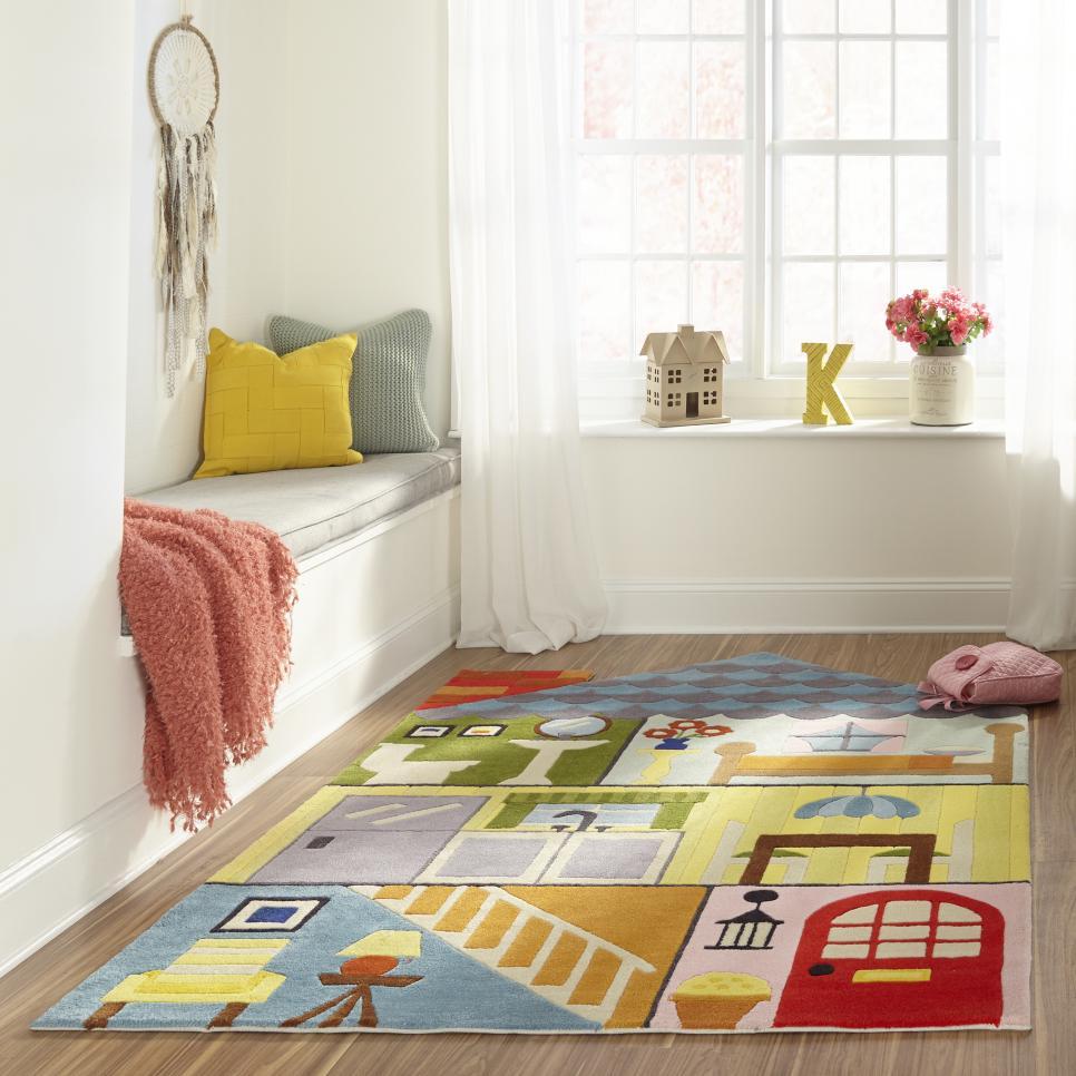 کفپوش اتاق کودک در اصول طراحی اتاق کودک