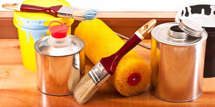 پاک کردن رنگ با حلال