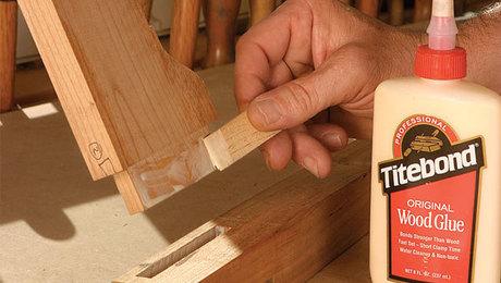 استفاده حرفه ای از چسب چوب
