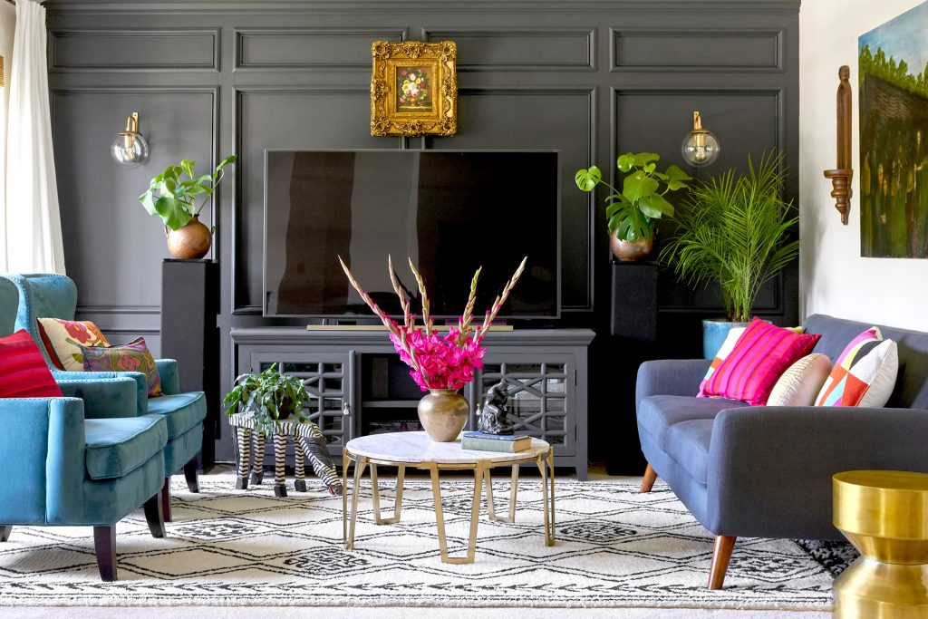 decorating with The best contrasting colors