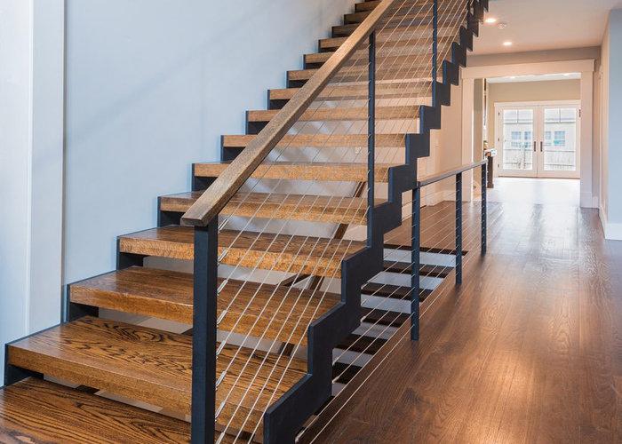 راه پله چوبی