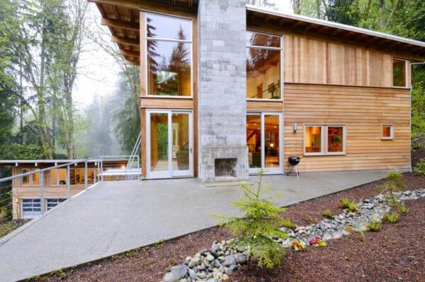 تنوع در ساخت خانه چوبی