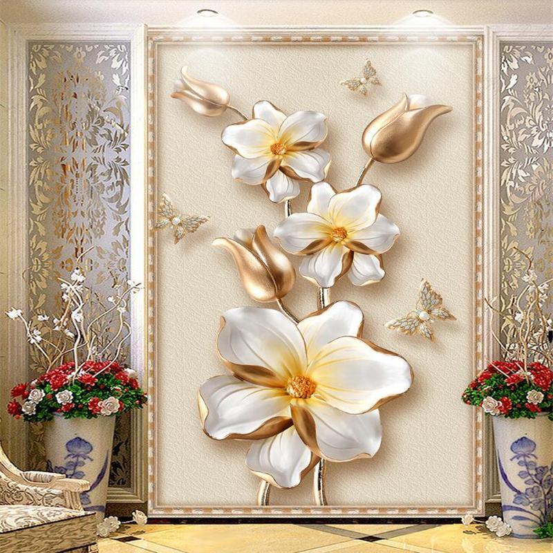 کاغذهای دیواری سه بعدی