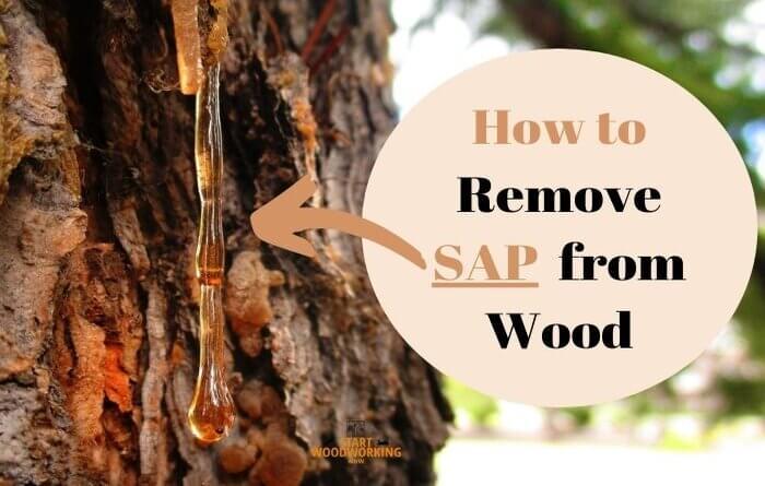 پاک کردن صمغ چوب