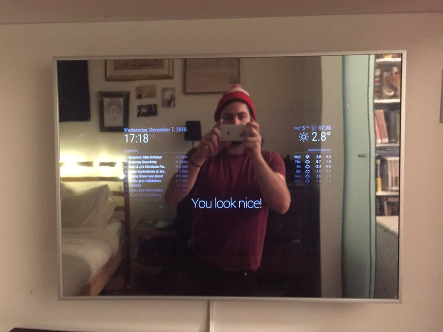 آینه هموشمند