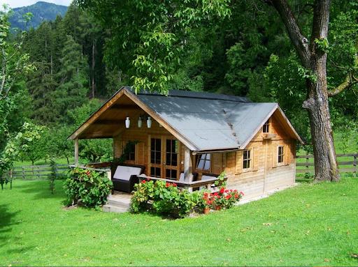 ارزان بودن خانه چوبی