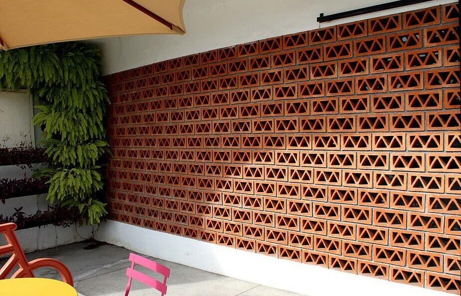دیوارهای پارتیشن سفالی