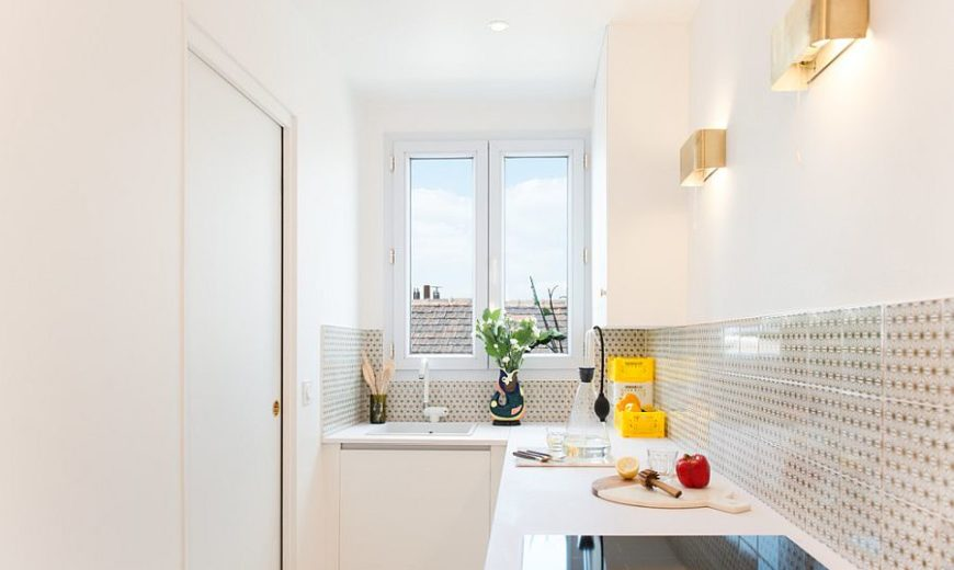 نورپردازی در آشپزخانه های کوچک