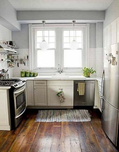 کفپوش آشپزخانه کوچک
